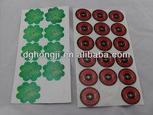 metal stickers 3m adhesive