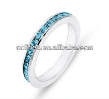 De moda venta al por mayor de acero inoxidable del diseño del anillo de tambor de acero anillo de cierre