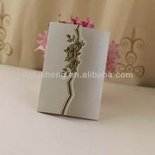 OEM easy paper folding crafts for hot stamp wedding invitation