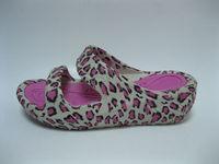Comfortable lady platform high heel slipper