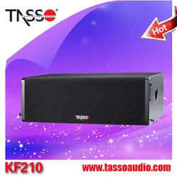 China double 18 subwoofer/10 inch pro line array speaker box