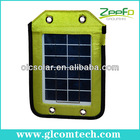 Factory high quality 2.5W USB portable solar charger with high efficiency solar cell
