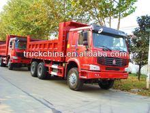 Howo 3 axles dump truck howo tipper 25 ton