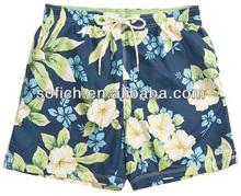 CPS013 100% polyester sexy men swim shorts