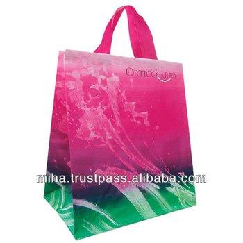 Eco friendly high quality foldable Shopping bag