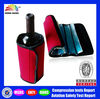 HB741 gel wine bottle cooler bag