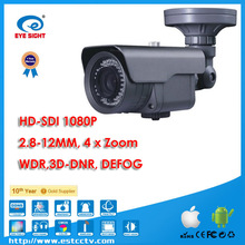 HD-SDI Zoom View CCTV Camera Waterproof