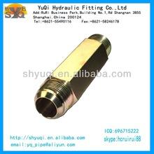JIC/BSPT lengthen hydraulic nipple