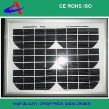 5W mini mono solar panel 18V 4*9cells aluminium frame