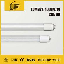 85-265V 50-60Hz >80LM/W 9W 18W 2FT 4FT PF>0.9 12w led reb tube you red tube 2012 led