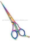 Professional Hair Cutting Scissors in multicolor/Professional Barber hair Scissor,Razor Hair scissor,New Style hair scissor