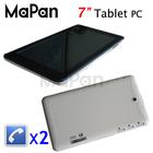 Mapan Allwinner A13 7 inch cdma gsm dual sim android smart mobile phone