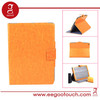 Multi-angle Standing Colar Charger Leather For ipad Case PU leather protective cover for ipad Air
