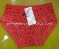 De encaje rojo joven bragas de las muchachas ropa interior atractiva caliente adolescente