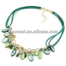 Gorgeous Bohemian Nylon Seashell Necklace