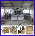 caffè buccia segatura mattonella della biomassa macchina utilizzata per bruciatore di biomassa