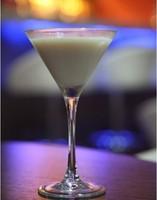 hot sale bulk cheap clear glass goblet for milk shake