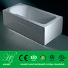 Compact bathtub for fat people / white acrylic bathtub/simple bathtub HS-EB801