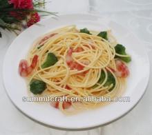 Seafood pasta window food fake product ideas