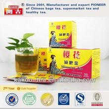 INHUA green tea diet granule slim tea supplement slimming supplement