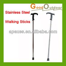 W108 Stainless Steel Old Men Walking Sticks