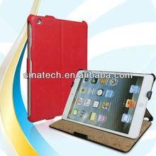 for iPad mini 2 retina bookcover case, flip leather case for ipad mini2