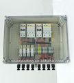 Abb con interruptor de circuito, cuerdas 4 panel solar combinador caja