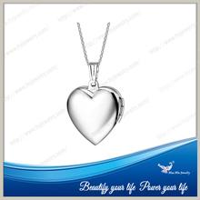 (Min order 10 pcs)In stock heart shaped photo frame pendant dz1003