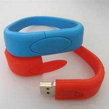 silicone bracelet usb memory for convenient