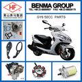 Hot vender motos kymco gy6 50cc peças, boa qualidade de peças de motocicleta!