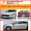 K3 PP body kit for 2013 KIA K3 body bumper kit car body styling kits