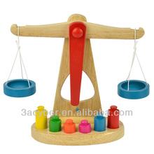 Teaching Educational Toys Libra Pendulum Wooden Balance Toy For Kids