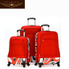 2014 canvas luggage suitcases for girl sky travel luggage bags