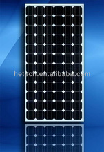 Pv Mono solar panel 190w China 72 cells for solar system and solar energy
