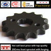 China manufacturer motorcycle spare parts bajaj pulsar motorcycle sprocket for YBR125CC