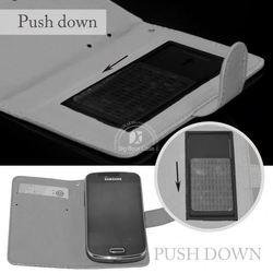 leather flip case for lg optimus l3 e400