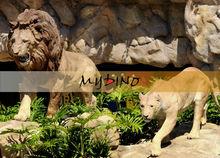 animals assemblers animal sculpture fiberglass animatronic lion