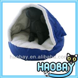 Oxford Fabric Outside With Sherpa Inside Soft Igloo Dog House