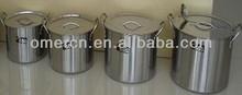 stainless steel stock pot 4pcs