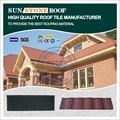 Baixo custo de materiais de construção, peso leve estrutura de cobertura, zinco de aço revestido telhas com livre de manutenção