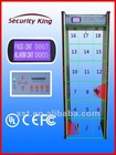Security King Multizone Metal Detector with CE RoHS ,XST-F18
