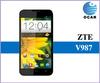 "ZTE V987 MTK6589 quad core 1.2ghz,5.0"" IPS screen,1280*720,1G RAM+4G ROM,Dual SIM,GPS,WIFI,Multi language&root"