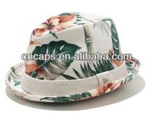 Fashion high quality straw shaped felt fedora hats wholesale