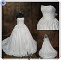 Jj0048 de la muestra verdadera del vestido de bola del bordado de última moda de novia de la boda vestidos fotos
