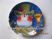 Cheap custom design printable ceramic serving trays