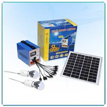 6w Solar Home Lighting System/Kit