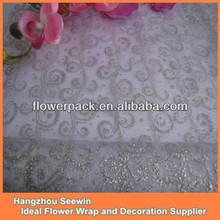 Sparkle White Modern Design Table Cloth/Runner