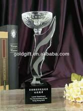 Fashion custom-made crystal trophy home decor