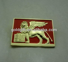 Quality discount copper deer metal badges for country