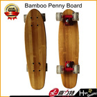 22 inch wooden penny skateboard for 5 player bamboo maple